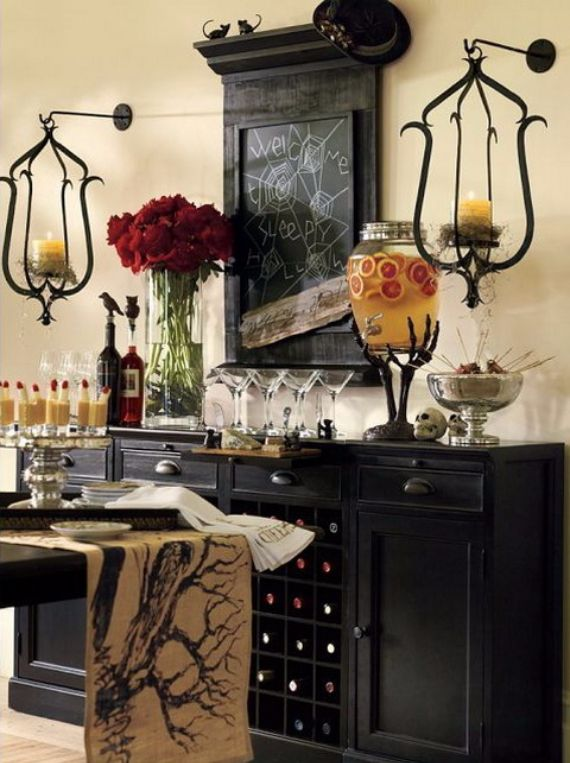 Interior Decorating Ideas To Decorate Your Home For Halloween (7)