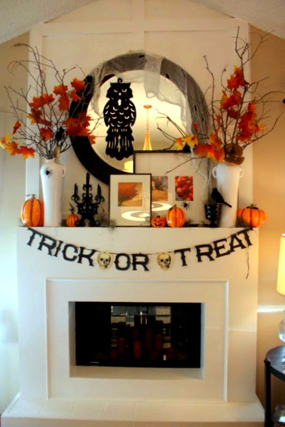 Modern Interior Halloween Decorations Ideas Using New Trends (17)
