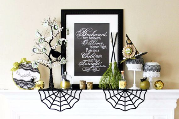 Modern Interior Halloween Decorations Ideas Using New Trends (20)