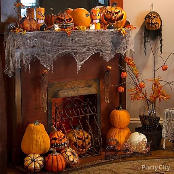 Modern Interior Halloween Decorations Ideas Using New Trends (5)