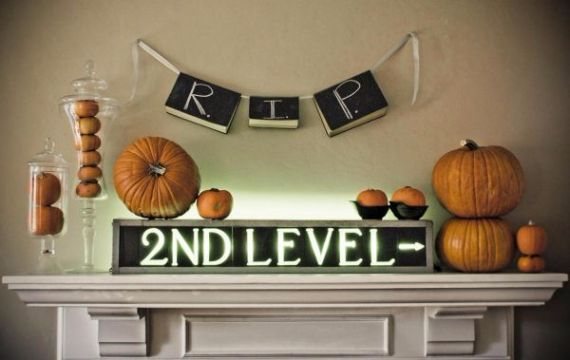 Modern Interior Halloween Decorations Ideas Using New Trends (7)