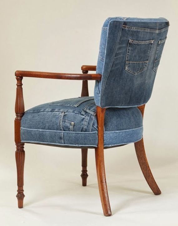 Clever Recycling Handmade Projects Ideas from Old Jeans (8)