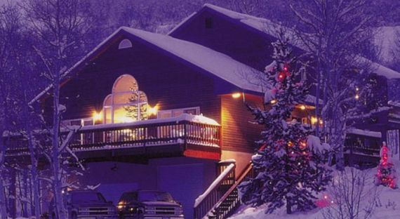 Creekside skiing holiday chalet           (2)