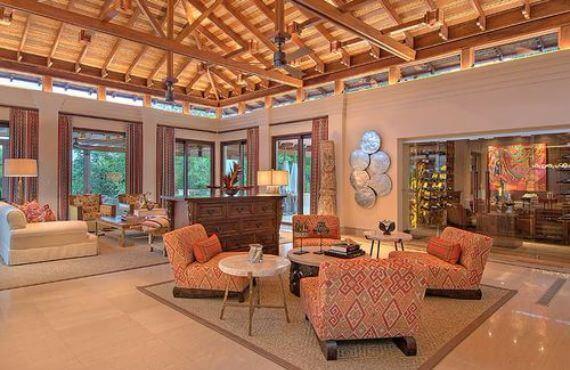 Green Contemporary Vacation Home in Costa Rica Villa Manzu (1)