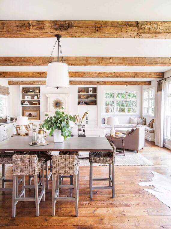 Pretty Classic In Beige Tones In Texas Vacation Home (6)