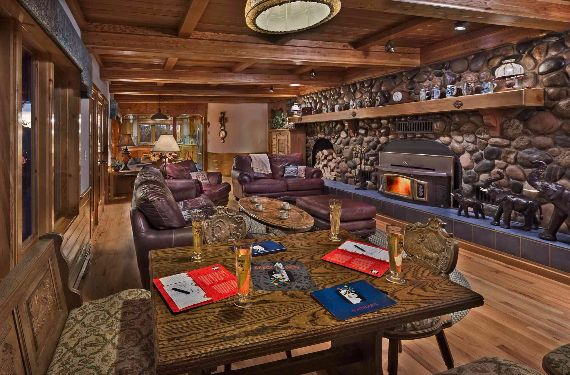 Traditional Mountain Chalet Integrating Modern Life Perks in Colorado; Senner Chalet (7)