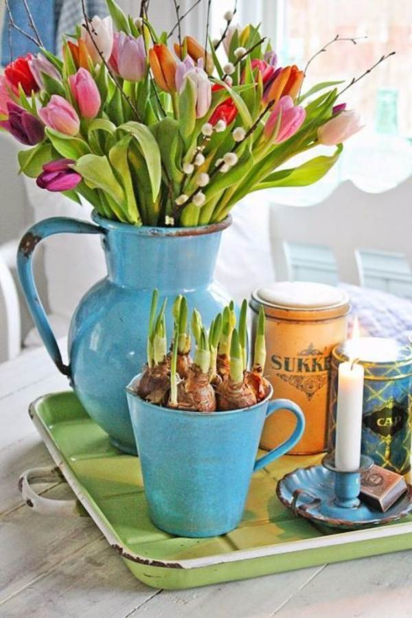 50 Stylish And Inspiring Flower Arrangement Centerpieces and Table Decoration Ideas (2)