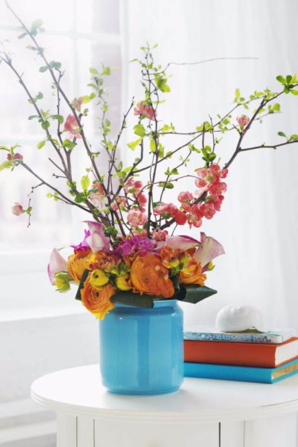 50 Stylish And Inspiring Flower Arrangement Centerpieces and Table Decoration Ideas (34)