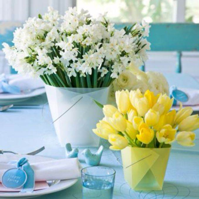 Bright and Easy Spring flower arrangement Ideas for Home D_رcor (4)