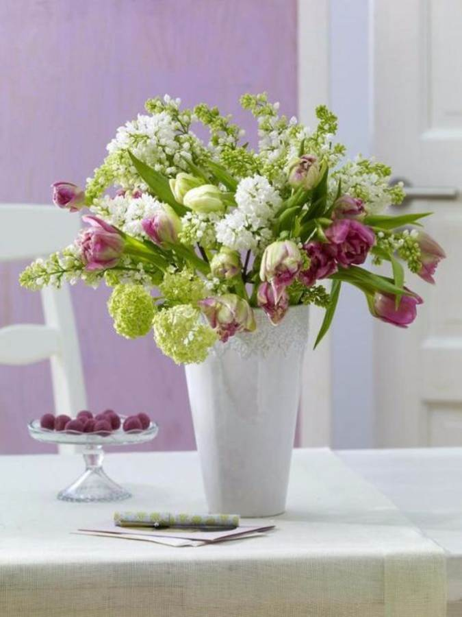 Bringing Spring Home 55 Gorgeous Greenery Touches Inspired by Nature (10)