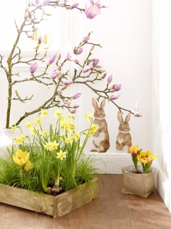 Bringing Spring Home 55 Gorgeous Greenery Touches Inspired by Nature (2)