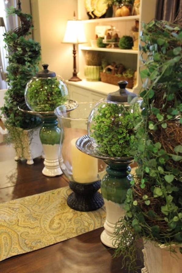 Bringing Spring Home 55 Gorgeous Greenery Touches Inspired by Nature (31)