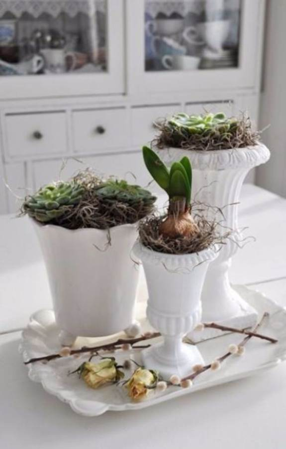 Bringing Spring Home 55 Gorgeous Greenery Touches Inspired by Nature (32)