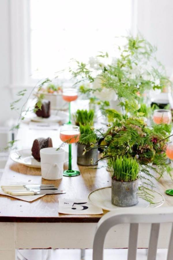 Bringing Spring Home 55 Gorgeous Greenery Touches Inspired by Nature (35)