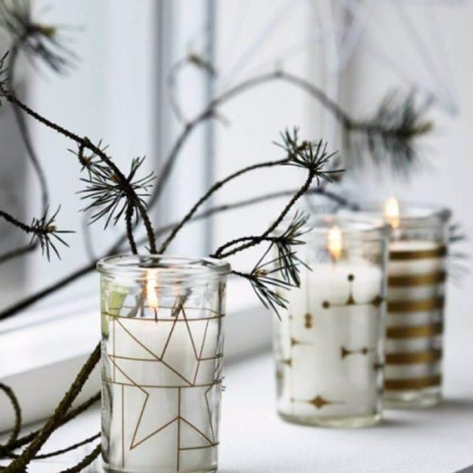 Handmade Candle Decoration DIY Ideas (15)
