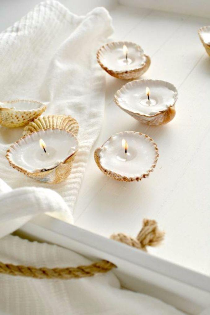 Handmade Candle Decoration DIY Ideas