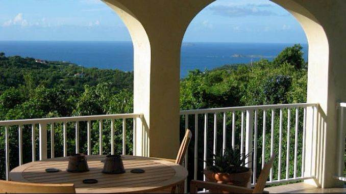 Relaxation Overflow Caneel Trailside Rental Cottage in St. Jhon (14)