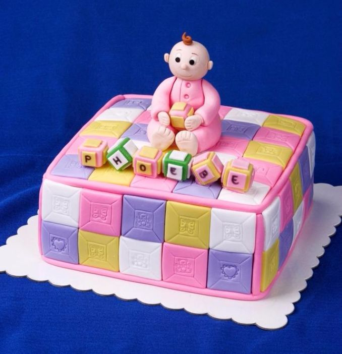 Gorgeous Baby Shower Cakes And Cupcakes Decorating Ideas (12)