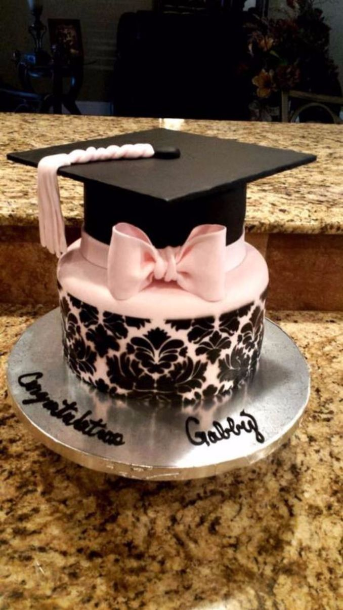 Simple but Creative Graduation Cakes and Cupcakes (10)