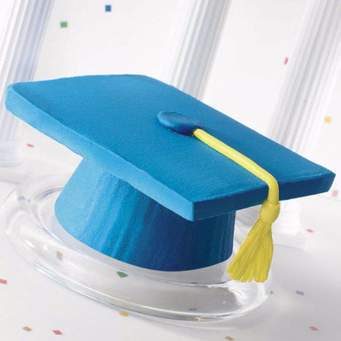 Simple but Creative Graduation Cakes and Cupcakes (5)