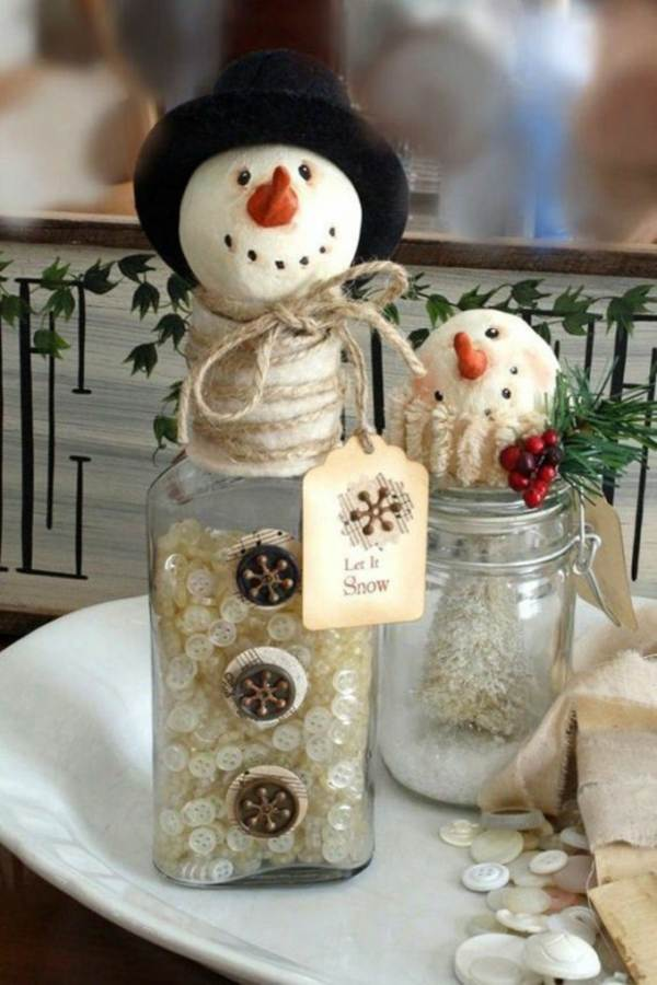 Creative DIY Craft Decorating Ideas Using Colorful Buttons (1)