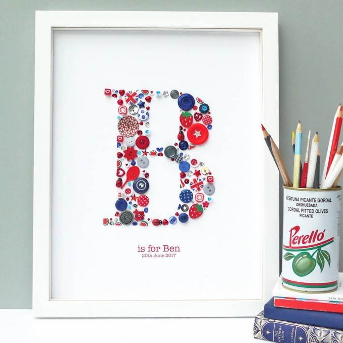 Creative DIY Craft Decorating Ideas Using Colorful Buttons (85)