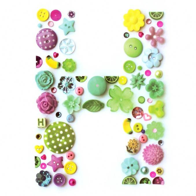Creative DIY Craft Decorating Ideas Using Colorful Buttons (88)