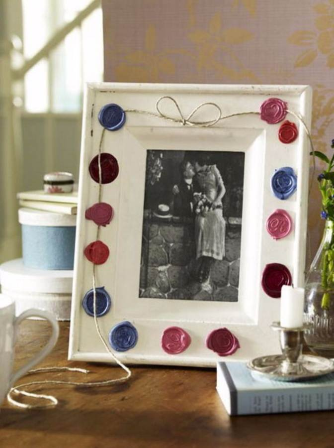Easy DIY Photo and Picture Frame Decorating Crafts (10)