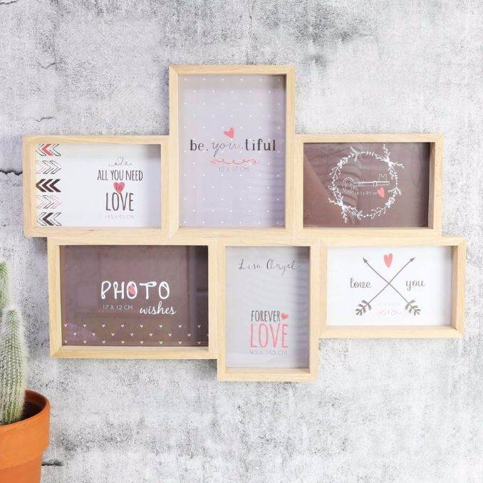Easy DIY Photo and Picture Frame Decorating Crafts (16)