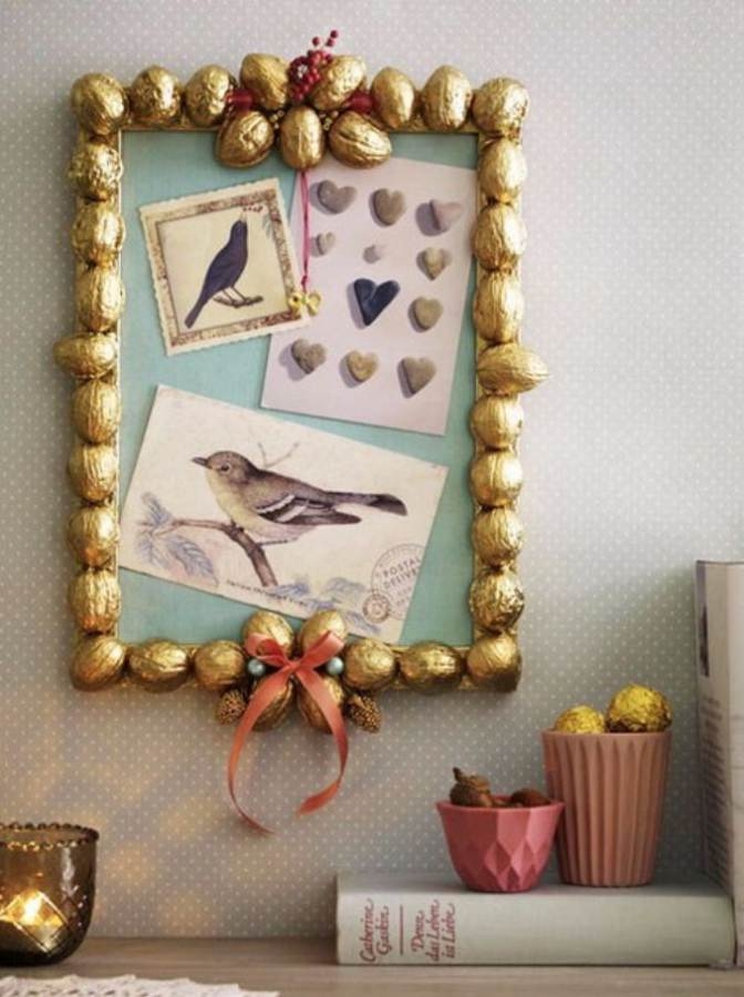 Easy DIY Photo and Picture Frame Decorating Crafts (19)