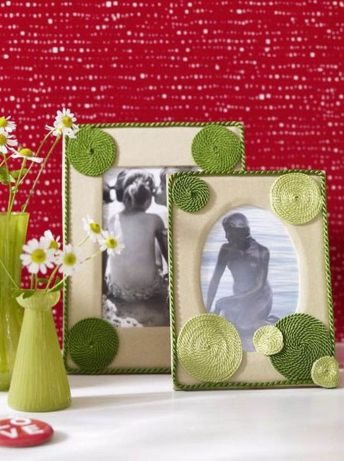 Easy DIY Photo and Picture Frame Decorating Crafts (5)