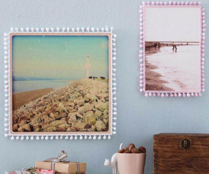 Easy DIY Photo and Picture Frame Decorating Crafts (6)