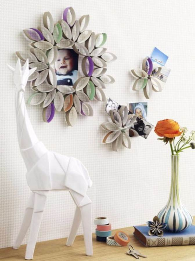 Easy DIY Photo and Picture Frame Decorating Crafts (8)
