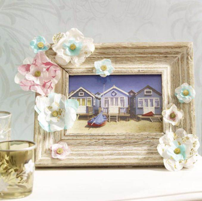 Easy DIY Photo and Picture Frame Decorating Crafts (9)