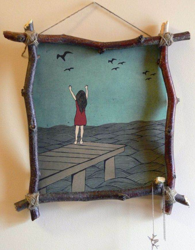 Easy DIY Photo and Picture Frame Decorating Crafts