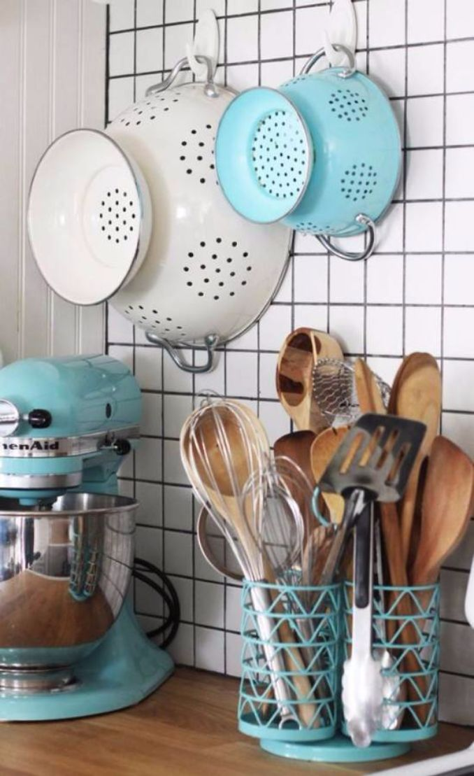 Great DIY Kitchen Utensil Storage & Organization Ideas (9)
