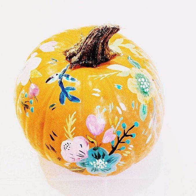 Great No Carve Halloween Pumpkin Decorating Ideas (2)