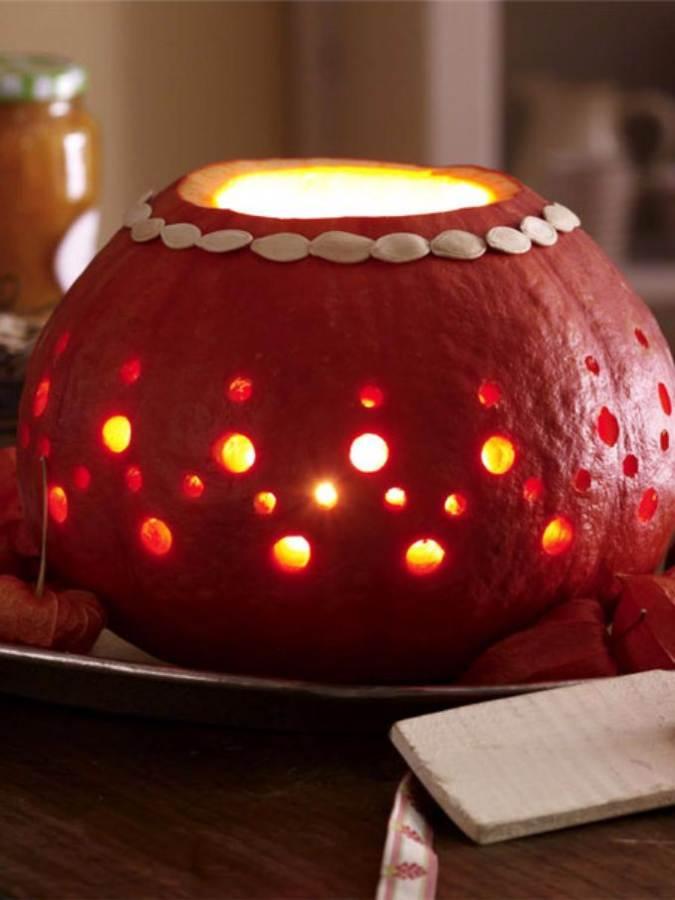 Great No Carve Halloween Pumpkin Decorating Ideas (3)