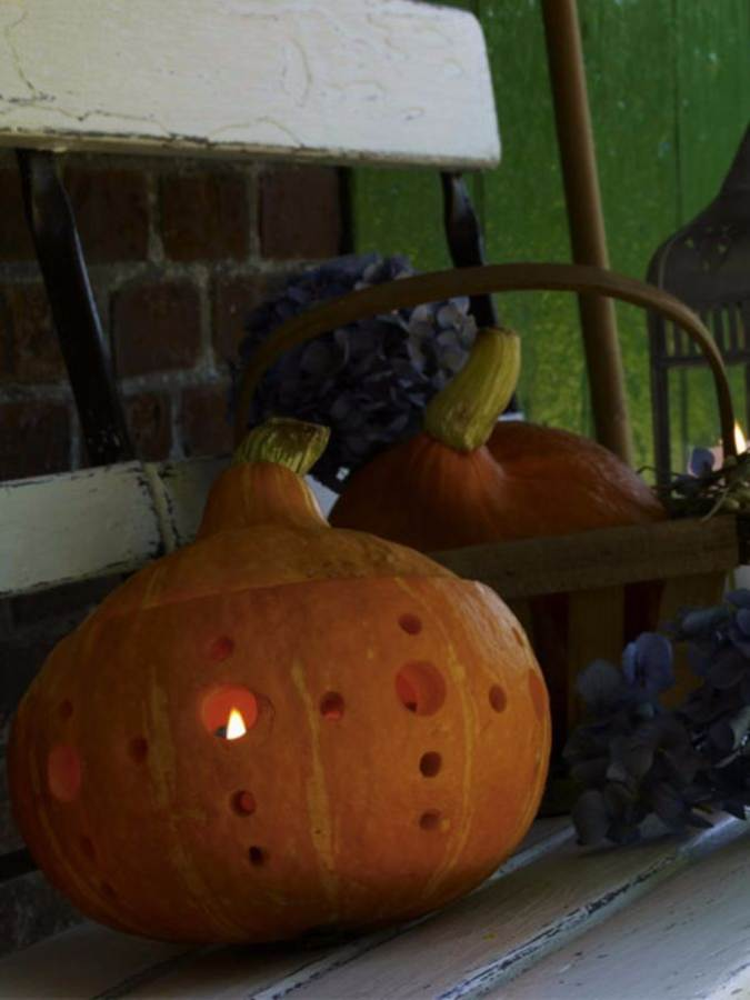 Great No Carve Halloween Pumpkin Decorating Ideas (4)