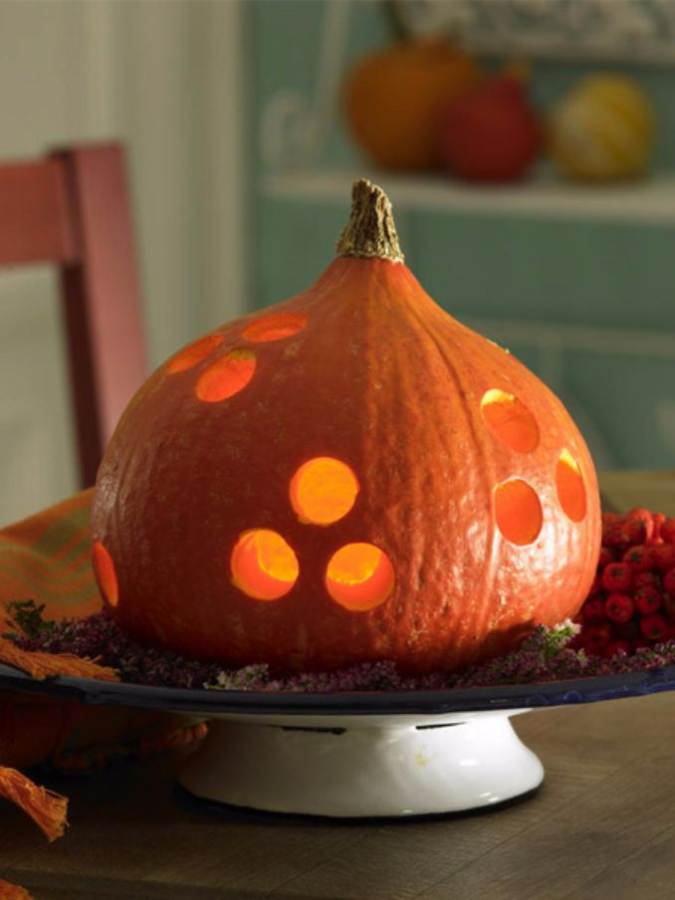 Great No Carve Halloween Pumpkin Decorating Ideas (5)
