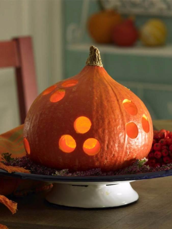Great No Carve Halloween Pumpkin Decorating Ideas (5)