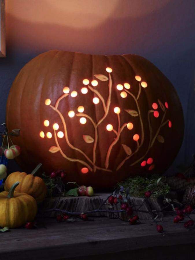 Great No Carve Halloween Pumpkin Decorating Ideas (6)