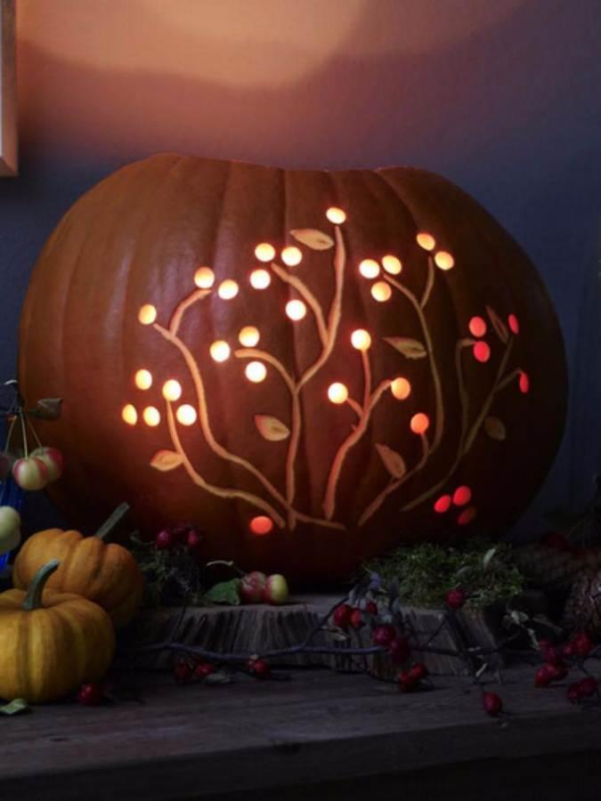 Great No Carve Halloween Pumpkin Decorating Ideas (6)