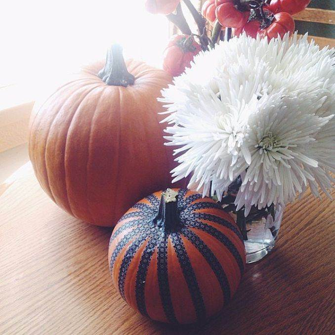 Great No Carve Halloween Pumpkin Decorating Ideas (7)