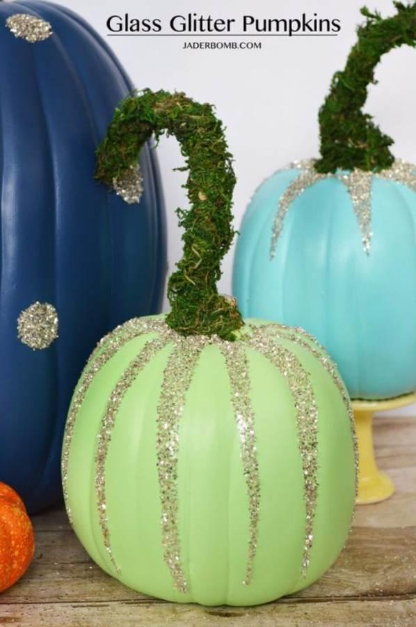 Great No Carve Halloween Pumpkin Decorating Ideas