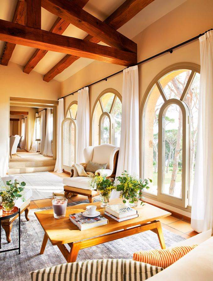 Ideal vacation home in a rustic style (9)