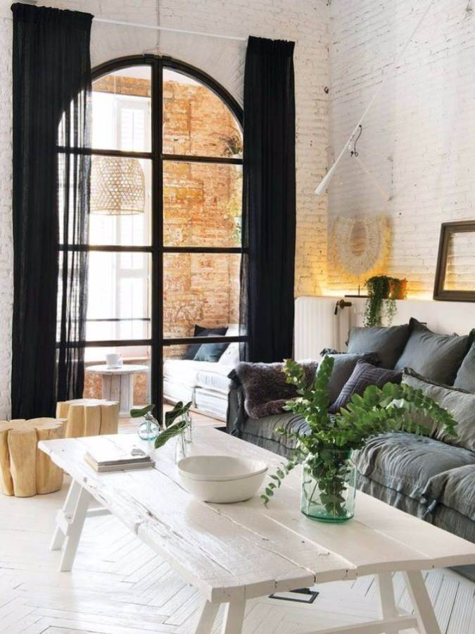 Luxury Apartment In The Loft Barcelona Spain  (6)