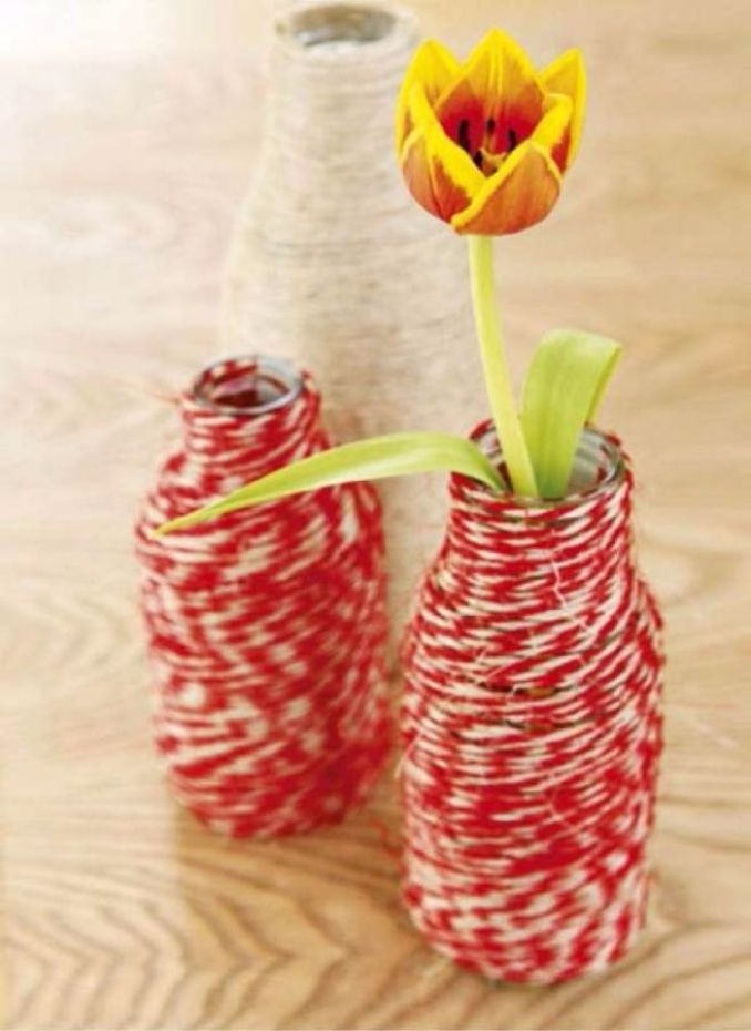 DIY Creative Ideas of How To Recycle Old Bottles (30)