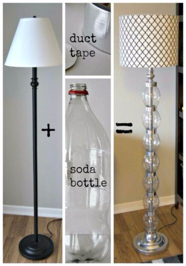 DIY Creative Ideas of How To Recycle Old Bottles (43)