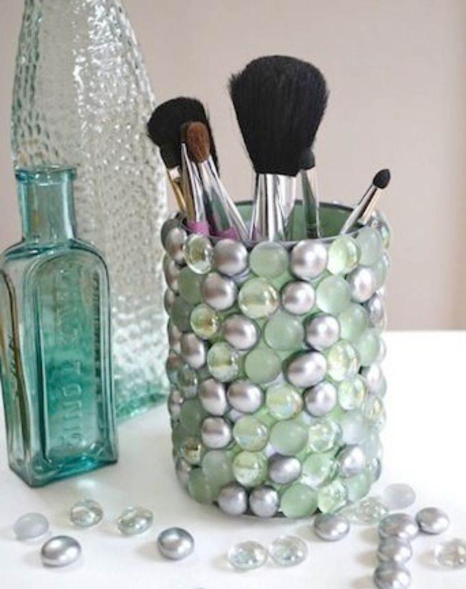 DIY pencil holder ideas for your home desk decoration (18)
